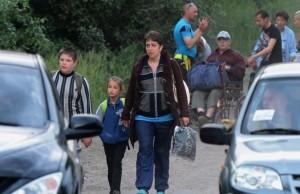 беженцы (Число одних внутренних беженцев на Украине достигло 10 тысяч — ООН)