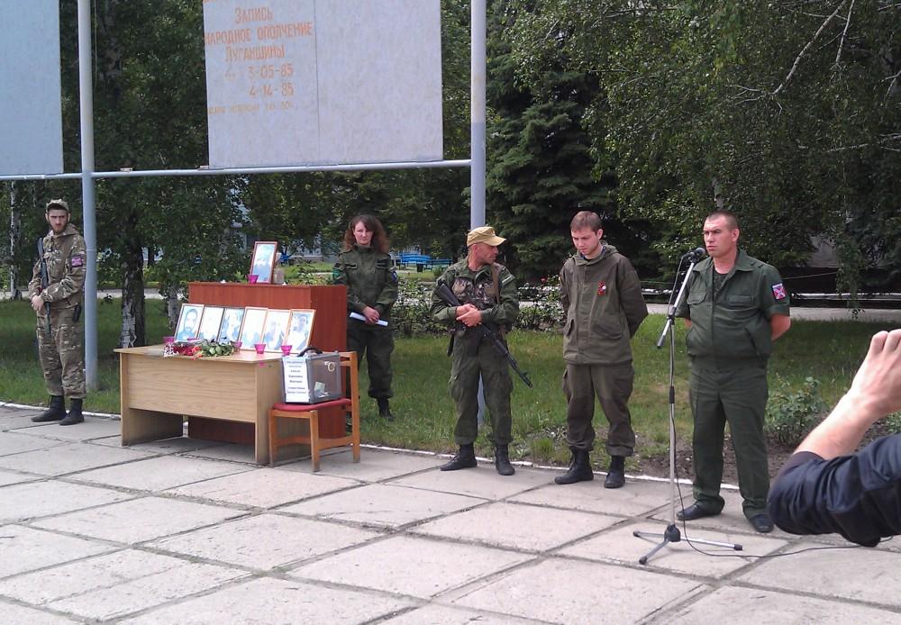 В Алчевске прошли памятные мероприятия в честь Алексея Мозгового